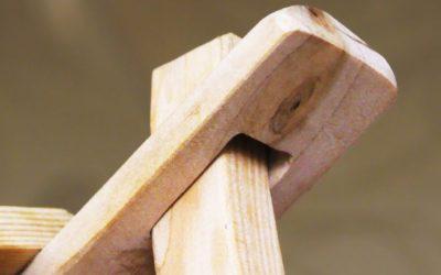 Крутая идея ! Не выбрасывайте обрезки древесины !