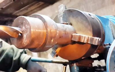 Как изготовить дровокольную «морковку» в гараже