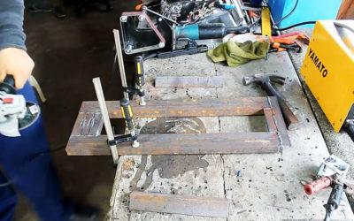 Рабочая конструкция самодельного токарного станка