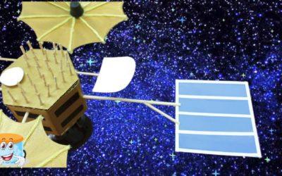 Как Сделать Своими Руками Поделку Спутник — Мастер Класс