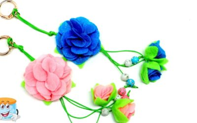 Подарок Своими Руками Брелок  для Девочки Мастер Класс