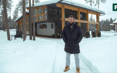 Компактный и динамичный: дом из дерева и камня родом из Эстонии // FORUMHOUSE