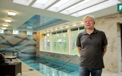 Банный комплекс с бассейном в собственном доме // FORUMHOUSE