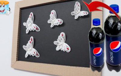Идея Декора Своими Руками из Пластиковых Бутылок Мастер Класс