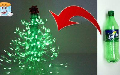 Простая Идея Как Сделать Елку из Пластиковых Бутылок Своими Руками Мастер Класс