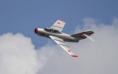 Авиамодель самолёта МиГ-15