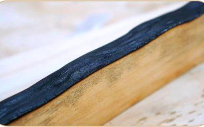 Имитация коры древесины на досках