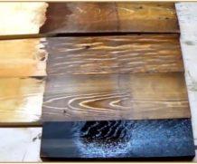 Легкий способ состарить (морить) древесину