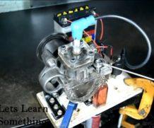 Переделка компрессора от холодильника в ДВС
